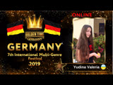GTG-4114-0108 - Юдина ВалерияYudina Valeria - Golden Time Online Germany 2019