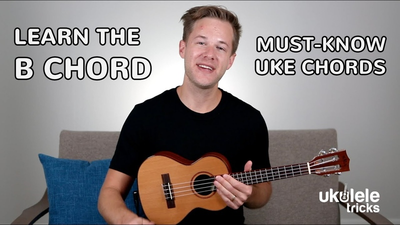 How to Play a B Major Chord on Ukulele