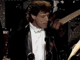 Rolling Stones accept award at Rock and Roll Hall of Fame inductions 1989
