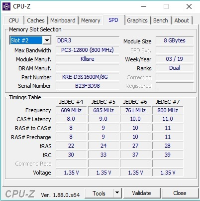 Переделка планки оперативной памяти DDR3 (1,5В) в DDR3L (1,35В)