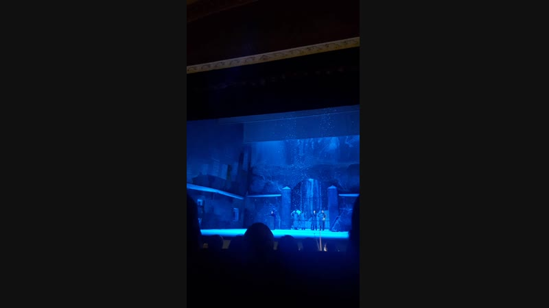Большой театр в Челябинске Опера Дж Пучини Богема Сцена третья