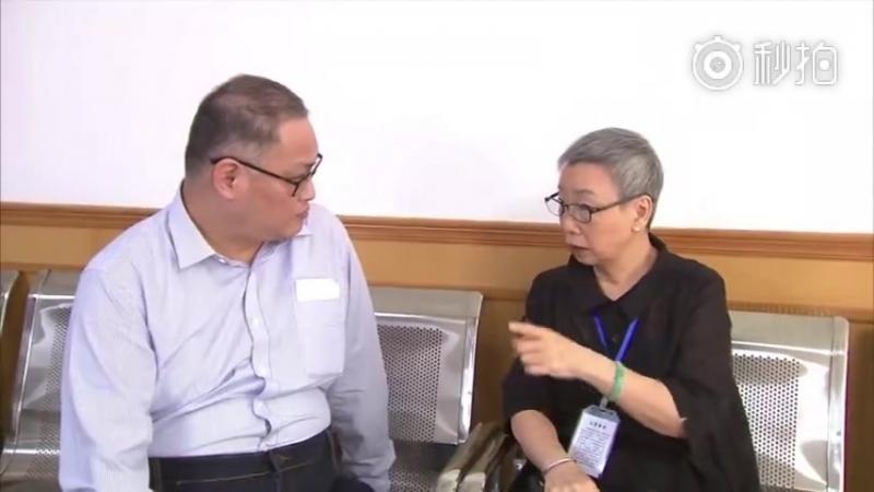 29 彭宇华、李明哲颠覆国家政权案 应被告人家属请求,在台商协会工作人员、媒体记者的见证下,李明哲和母亲会面。 