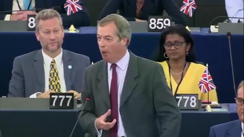 Epoch Times Deutsch: Thank God we´re leaving! Nigel Farage wirft Von der Leyen moderne Form des Kommunismus vor
