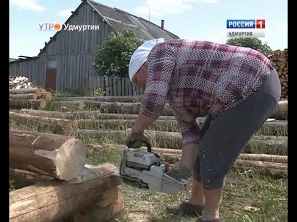Невероятная женщина Раиса Невоструева строит избы