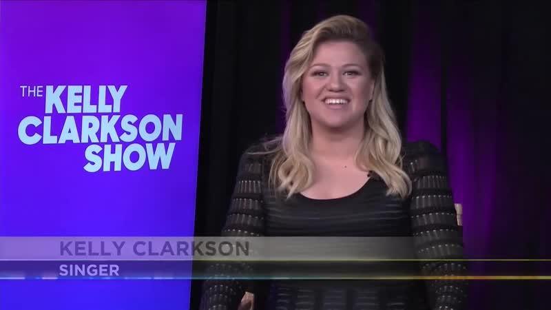 Kelly Clarkson on PA Live!