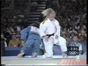 Judo, pase final olimpica Isabel Fernandez, Sidney 2000