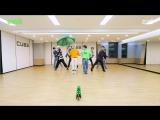 PENTAGON « Naughty Boy » Choreography Practice Video