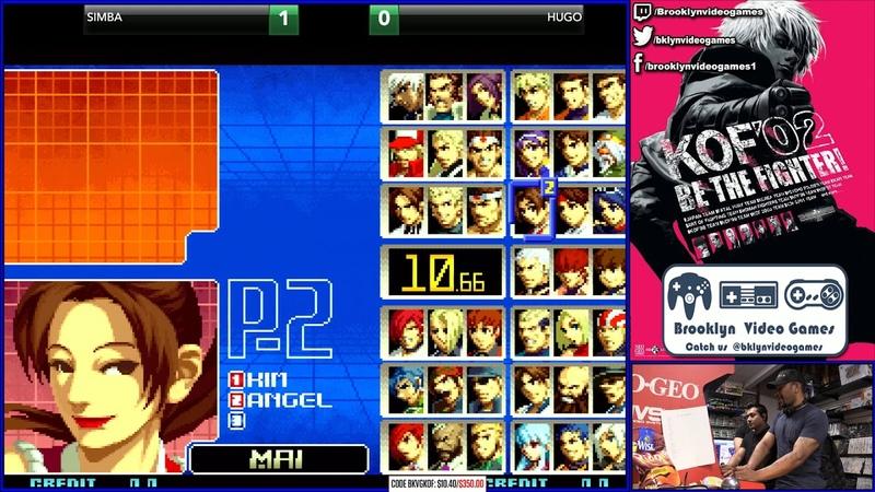 KOF2002 ▷ Tournament Play 1 ▷ Dorado Challenge