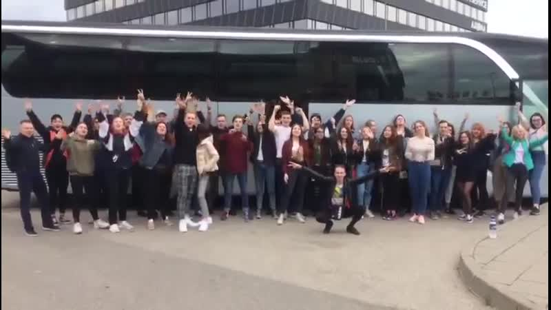 Мы в Вильнюсе! (Бас-тур на концерт Макса Коржа)