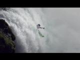 Ice water kayaking