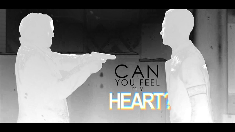 ► hank x connor | can you feel