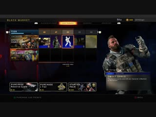 All new tiers for everyone who's at work. black ops 4
