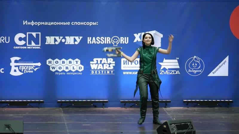 2.1.17. Алиса Анашкина - Мантис - Стражи галактики
