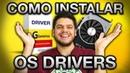 DRIVERS NO WINDOWS, TUTORIAL INSTALAÇÃO: Placa de vídeo e Placa mãe, onde baixar e como configurar