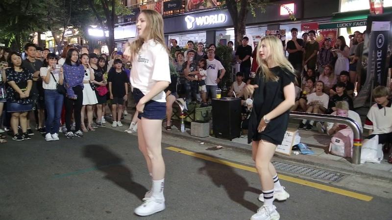 JHKTV] 홍대댄스 우크라이나 hong dae k pop dance Ukraine As If It's Your Last (마지막처럼)