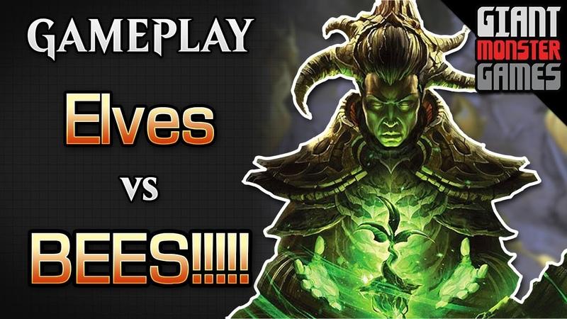 Elves -vs- BEES!! - New to Modern MTGO Gameplay 03