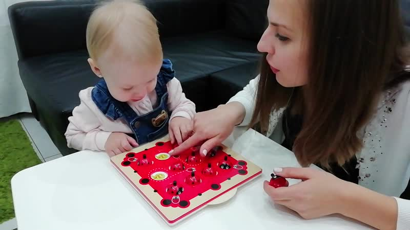 Memory Matching Game. Dasha is 1year and 10 months