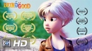**Award Winning** CGI 3D Animated Short Film: Being Good - by Jenny Harder
