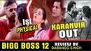 "BIGG BOSS 12"" Latest News Big Fight Full Episode Review By Dabangg Singh 01 Nov 2018"