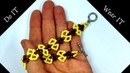 Do it. Wear it. Simple beaded bracelet. Beading pattern for beginners