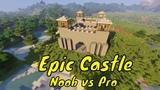 EPIC CASTLE Challenge NOOB vs PRO in Minecraft Battle