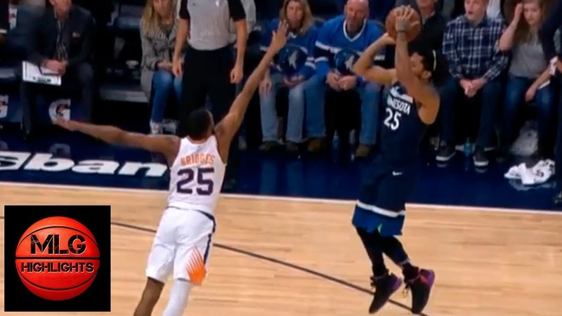 Derrick Rose Shocks the Timberwolves Crowd After Hits Game-Winner Against the Suns