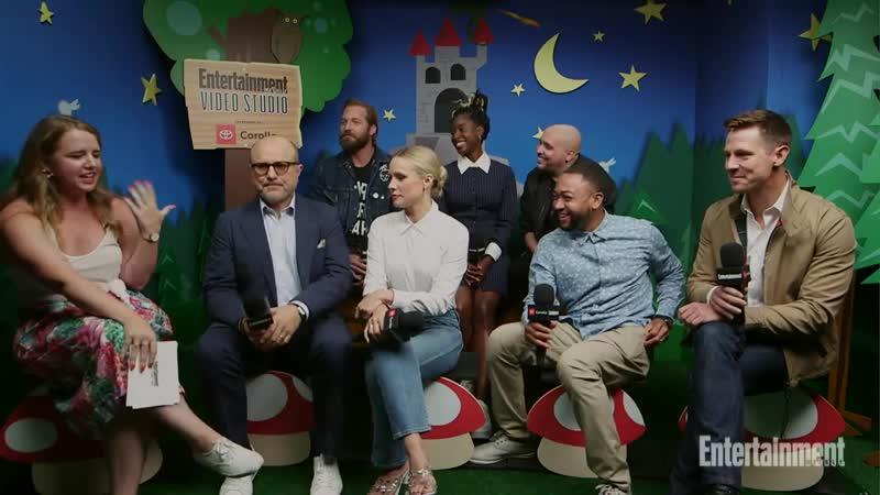 Veronica Mars Stars Kristen Bell Jason Dohring Cast LIVE SDCC 2019 Entertainment Weekly