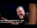 Metallica Ozzy Osbourne Iron Man Paranoid Rock and Hall of Fame October 30 2009
