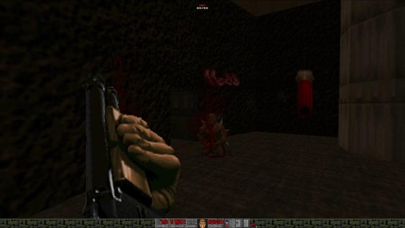 Brutal Doom v21 RC4 on GZDoom 3.7.1 MAP01 Entryway