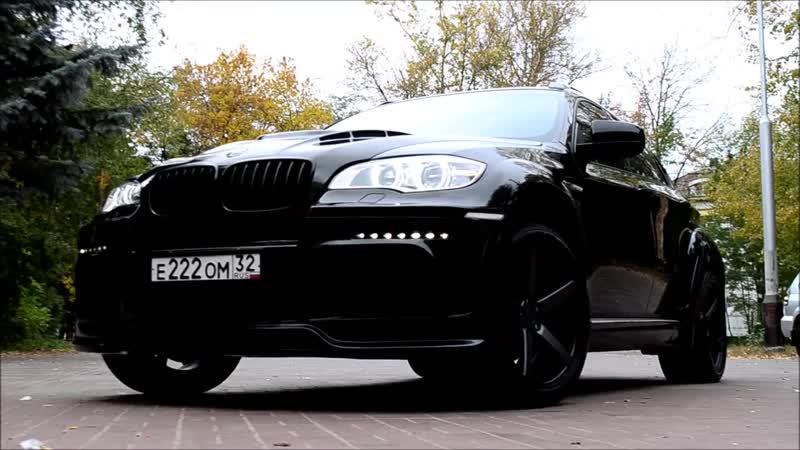 Detailing BMW X6 Hamann by Ceramic Pro Детейлинг Центр Авторенессанс Брянск