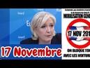Marine Le Pen dénonce la hausse des prix du carburant 17 Novembre