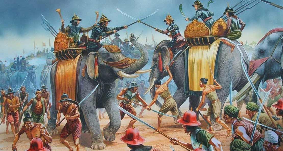 Бирманские слоны