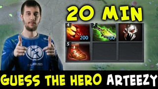 Guess the hero — Arteezy edition