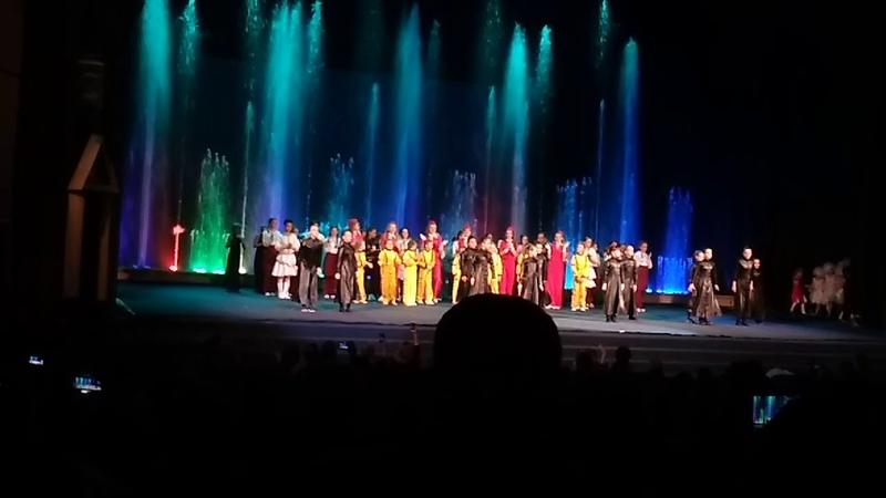 Отчётный концерт в цирке Аквамарин Школа танцев Дарьи Сагаловой