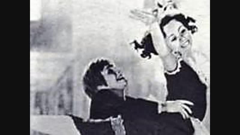 Маленькая Великая женщина балерина Екатерина Максимова танец Петера в фильме балете Старое танго .