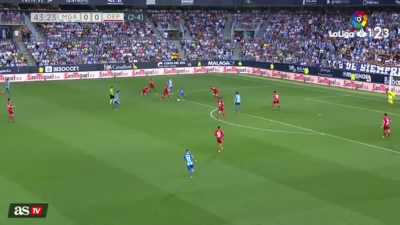 Малага – Депортиво Обзор матча (Футбол Испания 2-й дивизион) 15 июня LiveTV