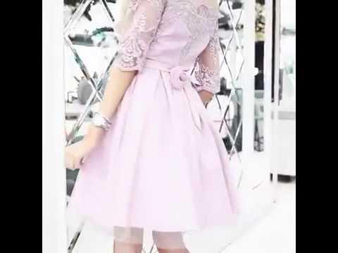 Очаровательная нежность🌷Изящное платье Modnica-shop, украшенное кружевной аппликацией