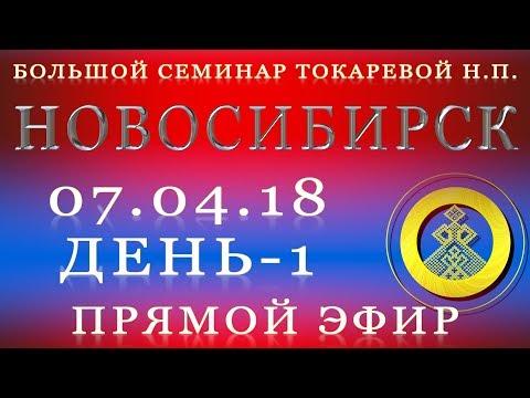 7.04.18. Токарева Н.П. Большой семинар. Новосибирск. Прямой эфир.