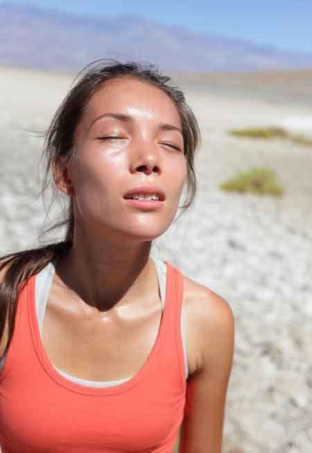 При отсутствии лечения тепловое истощение может перерасти в тепловой удар, более опасное состояние.