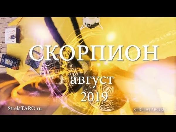СКОРПИОН таро гороскоп на месяц АВГУСТ 2019