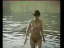Женщина купается в реке в прозрачном бикини С любовью и болью Шок 1989