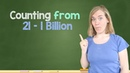 German Lesson (46) - Count to 1 Billion in German - A1