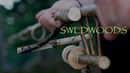 Bushcraft Fishing Rod and Spinning Reel made in the Woods