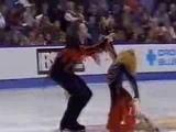 Svetlana Kulikova &amp Arseny Markov Fire &amp Ice FD 2001 Skate Canada