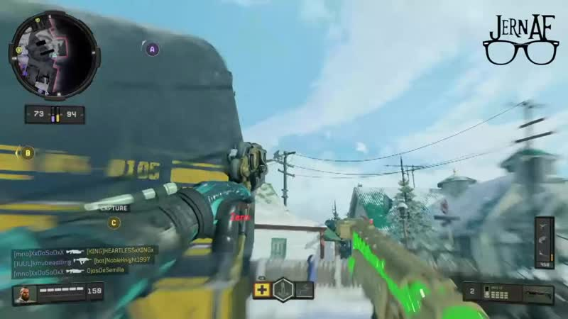 You can hop over the Sheds on Nuketown using ruin to get a nice surprise drop on the enemy team. Black Ops 4