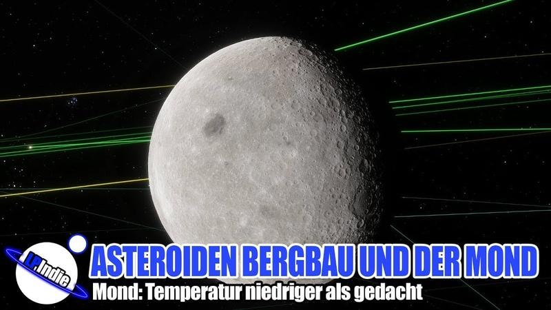 Regelung Asteroiden Bergbau und Messungen auf dem Mond Sonde Chang e 4