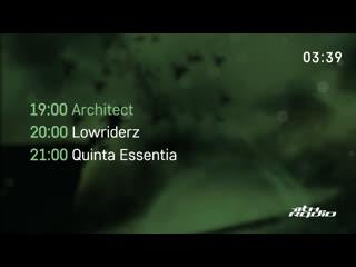 Architect / lowriderz / quinta essentia and b1per- live @ integration / urban wave podcast / bass addiction (12.06.2019)