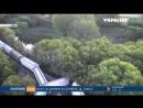 Железнодорожная авария в США - в реку упал поезд