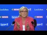 Pour Marine Le Pen, une extension de l'acc