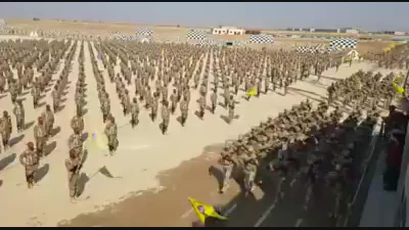 5000 бойцов Рожава в Ракке.